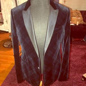 Armani collection mens velvet sport coat size 40R